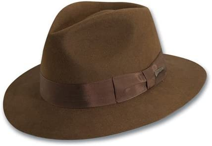 Dorfman Pacific Indiana Jones Men s Wool Felt Fedora 79ee92d2f67d
