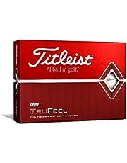 Titleist Trufeel Golf Balls, White (One Dozen)