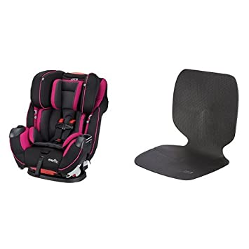 Evenflo Symphony Elite All In One Convertible Car Seat Raspberry Sorbet With