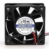 60 x 60 cooling fan - Jamicon JF0625B2M-005-065R DC Fan, Ball, 24 Volt, Flange Mount, 60 mm x 60 mm x 25 mm Size