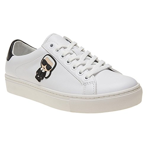 Karl Lagerfeld Shoes Women's Low Sneakers KL61030 011 White Size 39 White