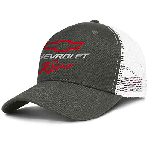 Mens Womens Chevrolet-Racing- Adjustable Bucket Hats Cadet Army Caps Fashion Baseball Hat Cap