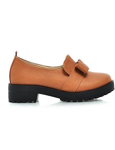 5 Mujer us8 Zapatos Marrón De Brown Tacón Punta Zq Eu42 Mocasines Uk6 Yellow Eu39 5 Plataforma Redonda Cn43 Uk8 Casual Amarillo Plano Semicuero us10 Cn39 Beige wEaPqBfB