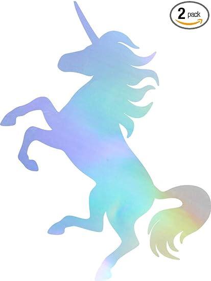 "Unicorn Silhouette Funny Vinyl Decal Sticker Car Window Bumper Wall laptop 9/"""