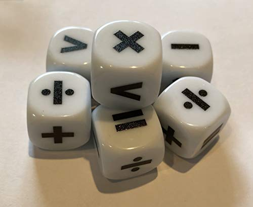 Tarquin Operations and Equation Dice (Pack of 10)