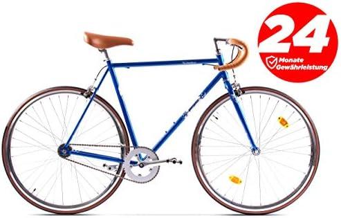 P-Bike - Bicicleta de Ciudad, 2 velocidades, 28 Pulgadas, diseño ...
