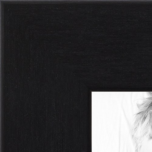 ch Black Steel Style Picture Frame, WOMBW26-469-24x36 (Four Steel Frame)