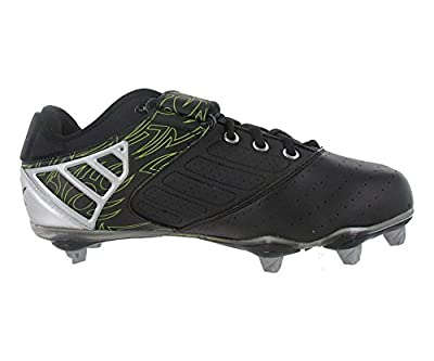 Reebok Bulldodge Low Sd2 Lc Mens Football Shoes Black/silver/lime Size