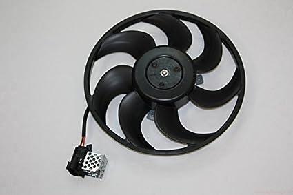 Opel Astra G, Zafira A frontal Motor ventilador w/pre-resistor ...