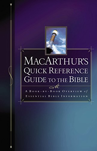 MacArthur's Quick Reference Guide to the Bible cover