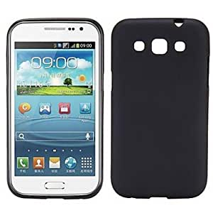JOE Transparent Frosted TPU Case For Samsung Galaxy Win i8550 i8552(Assorted Colors) , Black