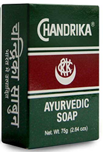 Chandrika Bar Soap 2.64 Ounces, 75 Grams (4 Pack)