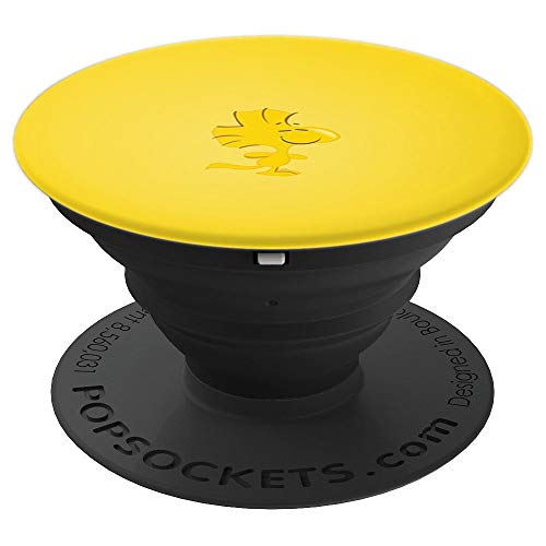 Peanuts Woodstock Happy - PopSockets Grip and Stand for Phones and Tablets]()