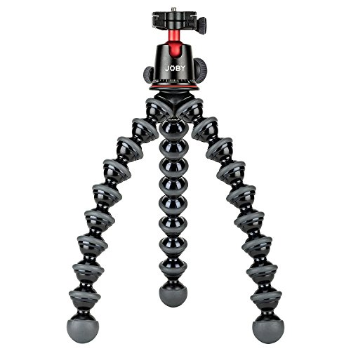 JOBY GorillaPod 5K Kit. Professional Tripod 5K Stand and Ballhead 5K for DSLR Cameras or Mirrorless Camera with Lens up to 5K (11lbs). Black/Charcoal. by Joby