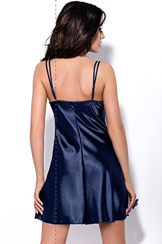 scuro notte coppe in UE in raso Melanie camicia morbide Gorsenia liscia da Blu con fabbricato K316 IHZpwqA