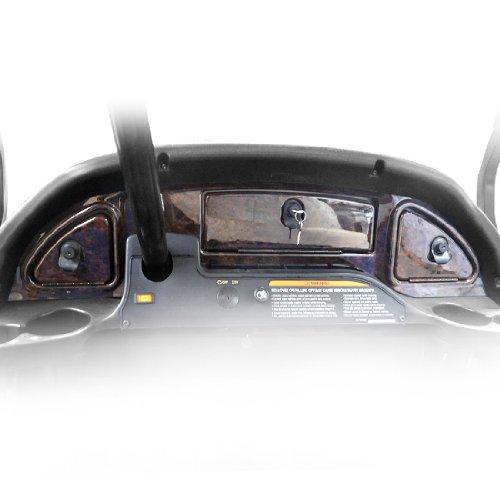Precedent Car Dash Club (Madjax GDV3GKG Golf Cart Wood Grain Dash - Fits 08+ Club Car Precedent)