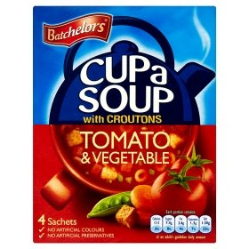 (Batchelors Cup a Soup Tomato & Vegetable)