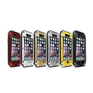 Mini - Triple Protection Design Full Body Case for iPhone 6 , Color-Black