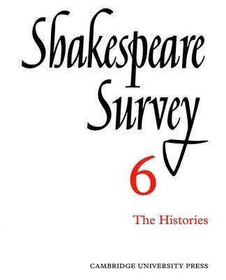 Download [Shakespeare Survey: Histories v.6] (By: Allardyce Nicoll) [published: December, 2002] ebook