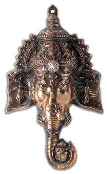 Ganesh Head Copper - Beautiful Hindu Wall Mask by Victoria's