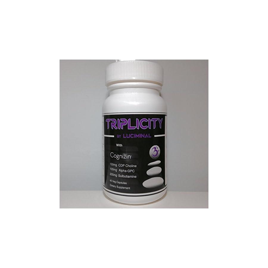 Triplicity CDP Citicoline, Alpha GPC, Sulbutiamine