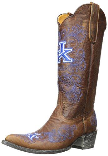 Ncaa Kentucky Wildcats Da Donna Stivali Da Gioco Da 13 Pollici In Ottone