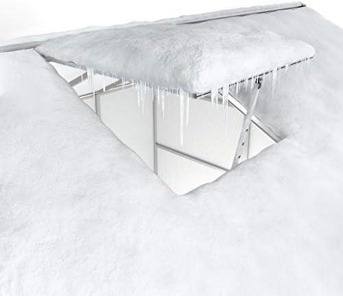 Gegaden Aluminium Gew/ächshaus 4.3m/² Garten Gew/ächshaus Gartenhaus Pflanzenanbauhaus Ma/ßstabil und wetterfest Vielseitig 177*241*195 cm
