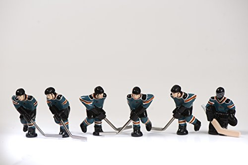 (NHL San Jose Sharks Table Top Hockey Game Players Team Pack)