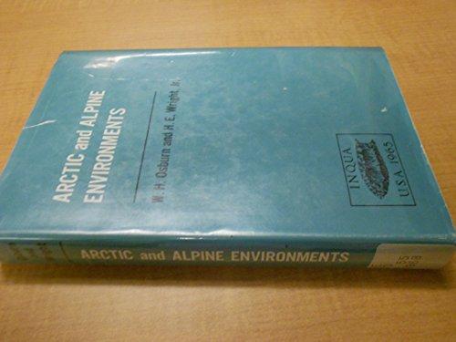 ARCTIC AND ALPINE ENVIRONMENTS [VOLUME 10, PROCEEDINGS VII CONGRESS INT ASSOC QUATERNARY RESEARCH, BOULDER-DENVER, CO, - Denver Int