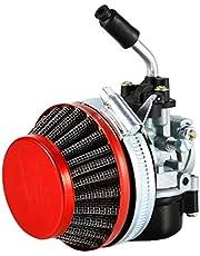 Racing Carburateur Luchtfilter Cleaner Gaskabel Intake voor 2 Takt Motor Gemotoriseerde Fiets ATV Quad 40cc 50cc 80cc