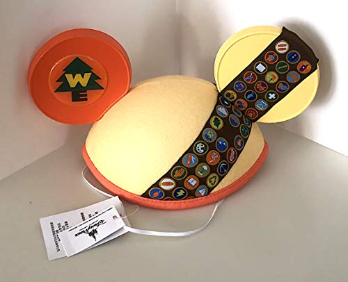 Disney Parks Up! Wilderness Explorer Scouts Mickey Mouse Ears Hat Adult Size ()