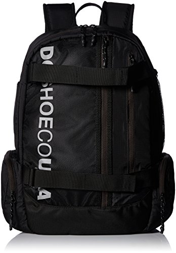 Skateboard Backpack Street - DC Men's BUSHINGS Skateboard Backpack, black, 1SZ