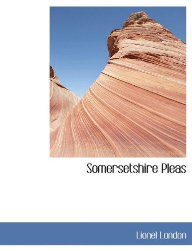 Download Somersetshire Pleas pdf epub