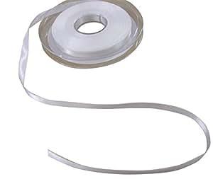 Doble cara raso color blanco 7mm se vende en 5Metre longitudes