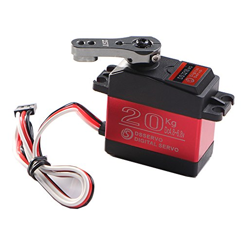 DS3218 Control Angle 270 High Torque Update Servo 20KG Full Metal Gear Digital Servo Baja Servo Waterproof Servo For Mechanical arm Fittings Baja RC Cars