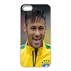 Unique Design Phone Case iPhone 5, 5S Cell Phone Case White Hvpbe Neymar Protective Cases Cover