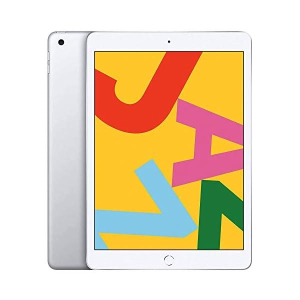 "Apple iPad   9.7""   6th GEN   WI-FI   32GB   Silver   2018   (Renewed) 1"