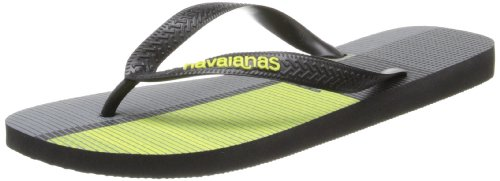 Havaianas Men's Trend Flip-Flop,Black/Black,Black/Black,45-46 BR/13 M US