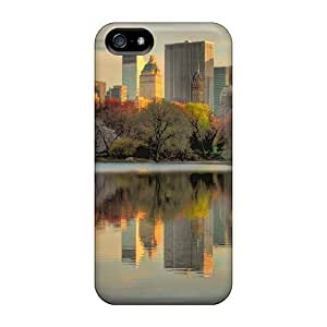 Fashion Design For SamSung Galaxy S5 Phone Case Cover PC For SamSung Galaxy S5 Phone Case Cover With Fashionable Look For SamSung Galaxy S5 Phone Case Cover - Nyc Always Looks Best From Central Park Hdr