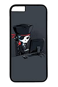 Cool Skull 11 Slim Hard Cover for iPhone 6 Plus Case ( 5.5 inch ) PC Black Cases