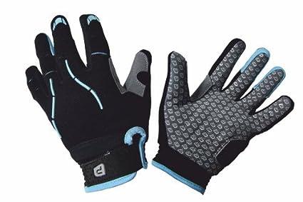 Cyan XL Polaris  Kids cylcle gloves TRACKER 2.0