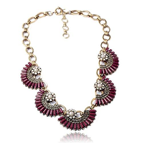 Fun Daisy Jewelry Vintage Retro Fashion Necklace
