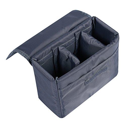 S-ZONE Waterproof DSLR SLR Camera Insert Bag Camera Inner Case Bag for Sony, Canon, Nikon, Olympus