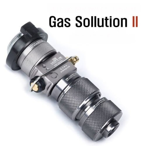 G Works Gas Solution 2 with Saver LPG EPI Adapter Set Duralumin Upgraded Sporting Goods Outdoor Sports Camping Hiking Camping Cooking Supplies from G Works