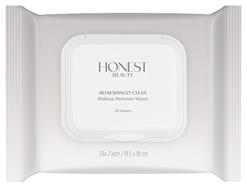Honest Beauty Refreshingly Clean Makeup Remover Wipes, 30 Count