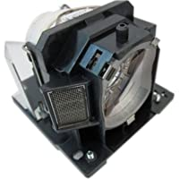 Hitachi Replacement Lamp with Housing and Original Bulb for CP-AW100N; CP-D10; CP-DW10