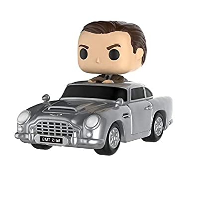 Funko POP! Rides: James Bond - James Bond with Aston Martin.: Funko Pop! Rides:: Toys & Games