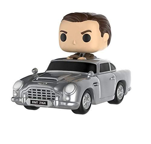Funko Pop! - James Bond Aston Martin & Sean Connery Figura de Vinilo 24820