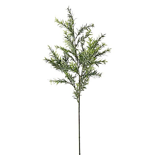 Serene Spaces Living Faux Rosemary Plant, Herbs for Floral Arrangements, Pack of 12, Measures 31