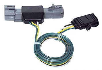hopkins 40205 litemate vehicle to trailer wiring kit (pico 6871pt) 1986 1992 ford ranger pickup Ford Transit Trailer Hitch